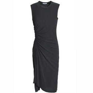 James Perse Grey Sleeveless Cotton Dress size1